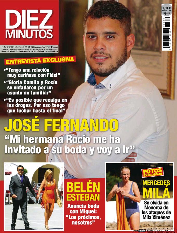 DIEZ MINUTOS portada 27 de Julio 2016