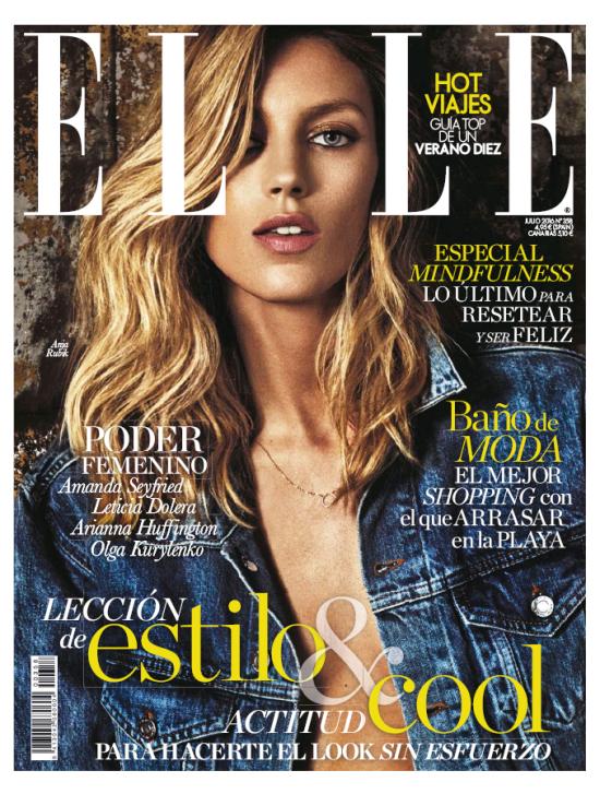 ELLE portada Julio 2016
