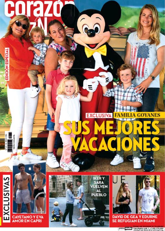HOY CORAZON portada 24 de Julio 2016