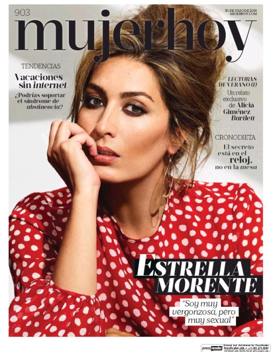 MUJER HOY 31 portada agosto 2016