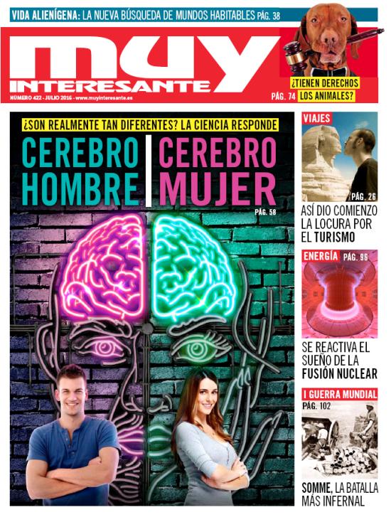 MUY INTERESANTE portada julio 2016