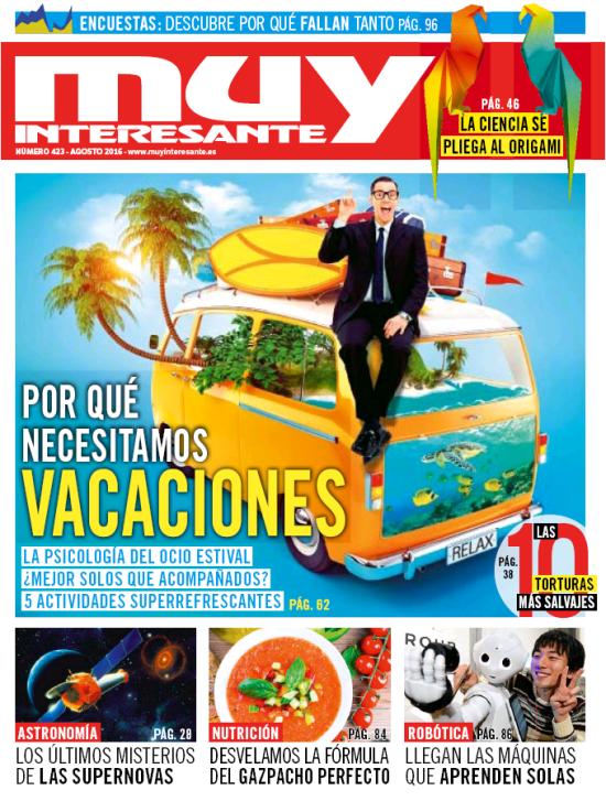 MUY INTERESANTE portada agosto 2016