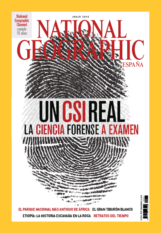 NATIONAL GEOGRAPHIC portada Julio 2016