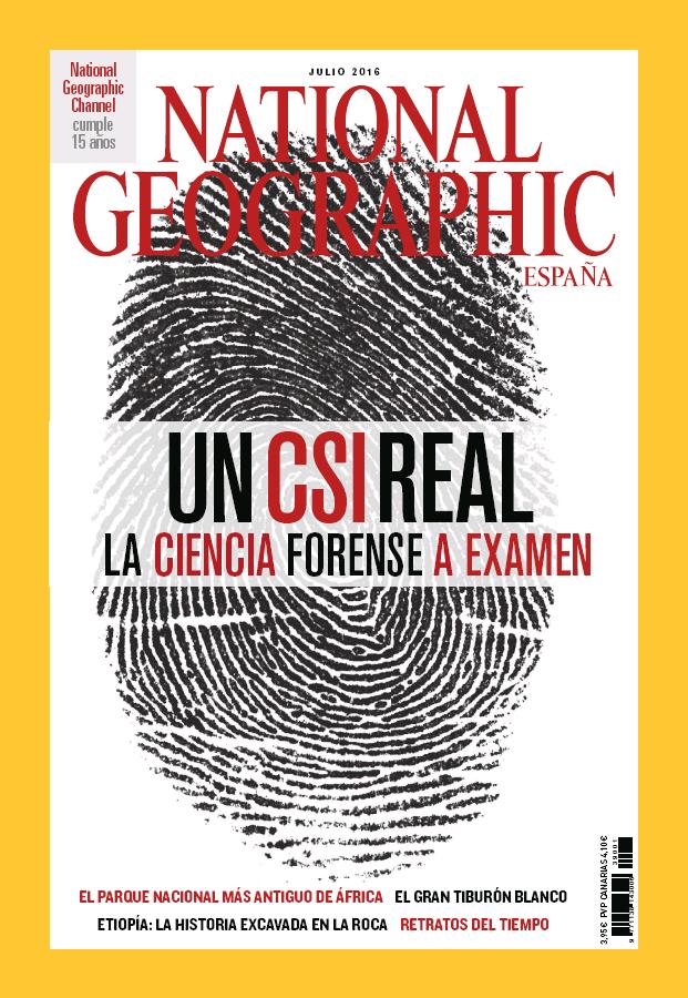 NATIONAL GEOGRAPHIC portada Julio 2016