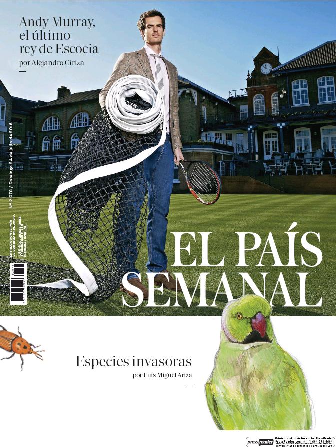 PAIS SEMANAL portada 24 de Julio 2016