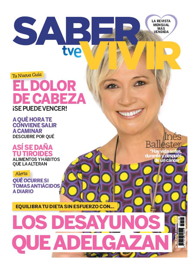 SABER VIVIR portada julio 2016