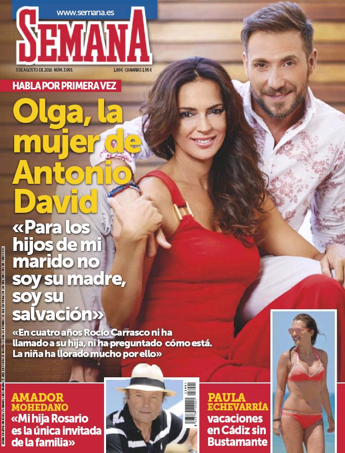 SEMANA portada 27 de Julio de 2016