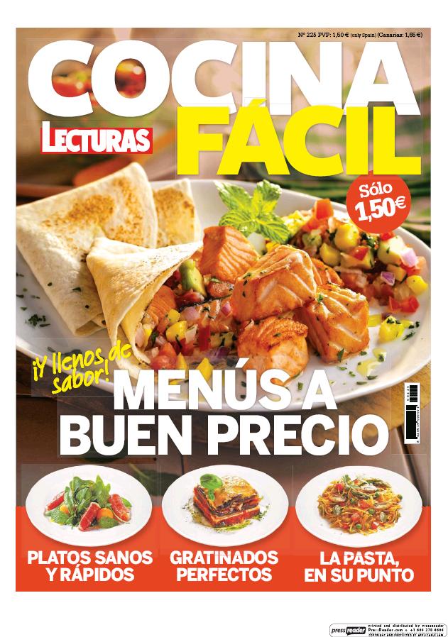 COCINA FACIL portada Septiembre 2016
