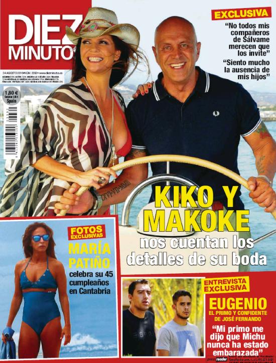 DIEZ MINUTOS portada 17 de Agosto 2016