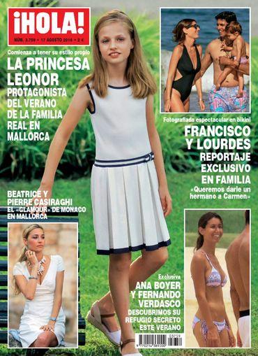 HOLA portada 10 de Agosto 2016