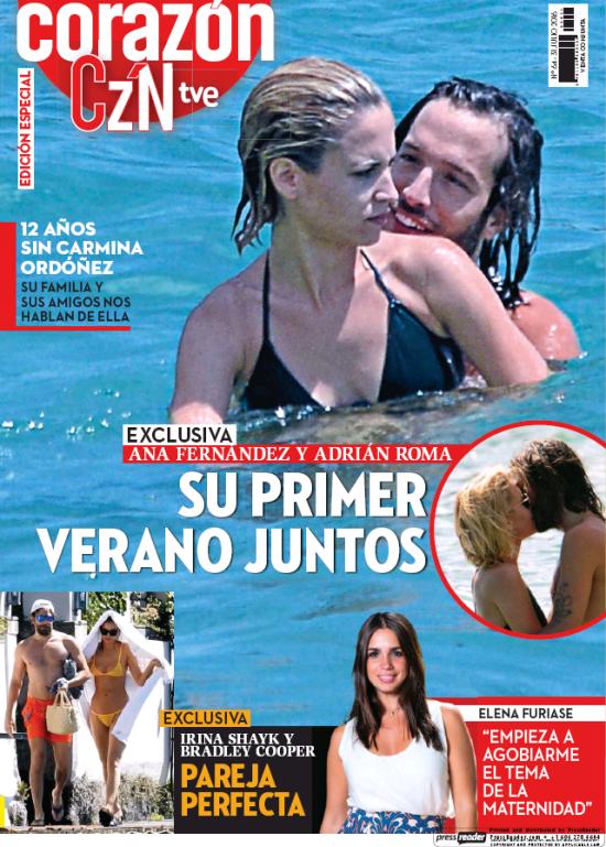 HOY CORAZON portada 1 de Agosto 2016