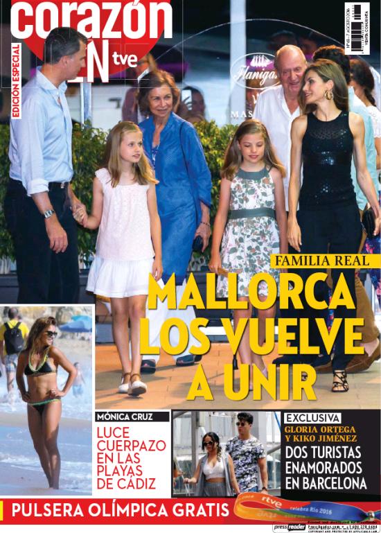 HOY CORAZON portada 7 de Agosto 2016