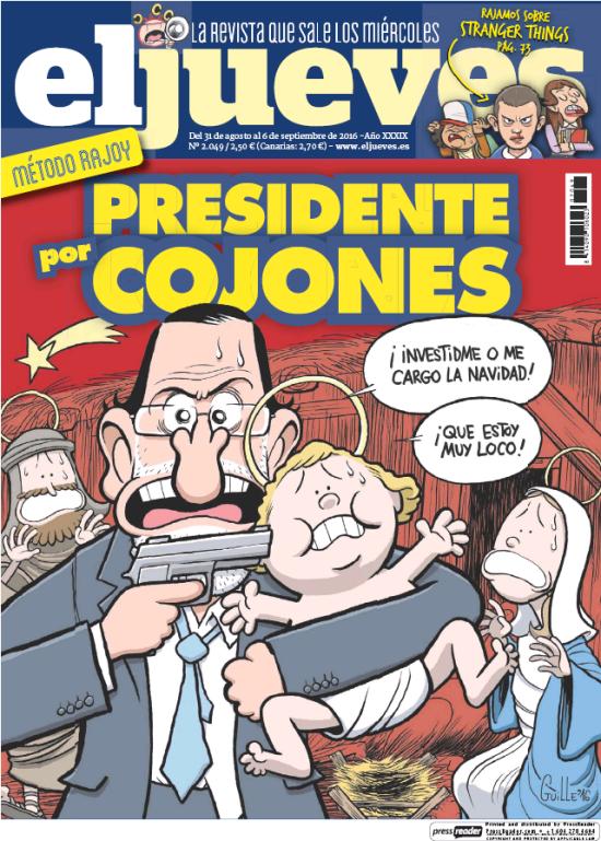 JUEVES portada 31 de Agosto 2016