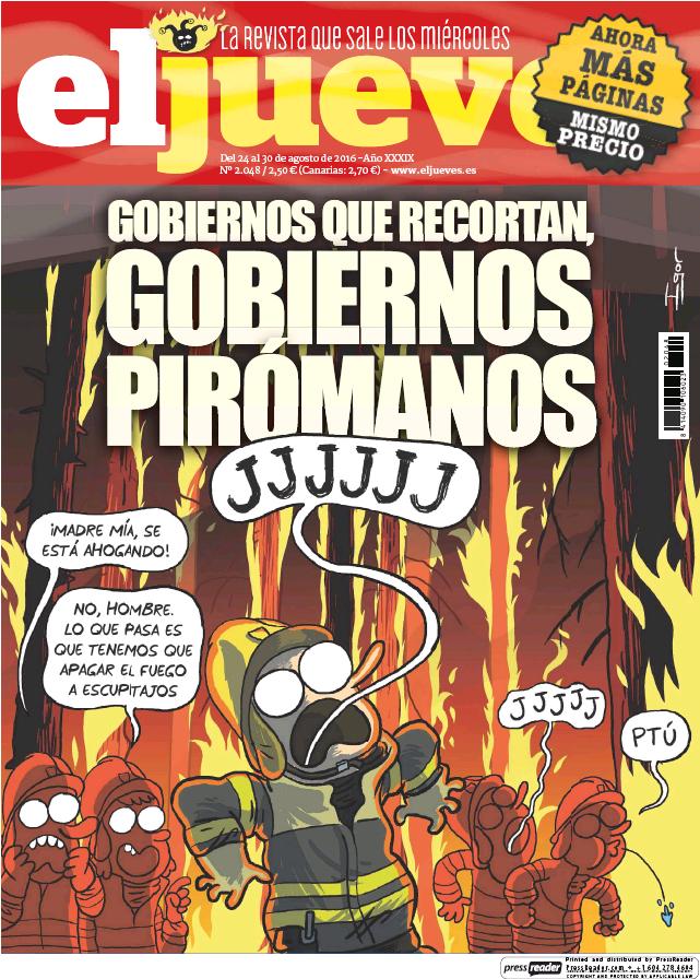 JUEVES portada 24 de Agosto 2016