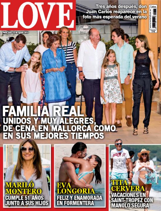 LOVE portada 3 de Agosto 2016