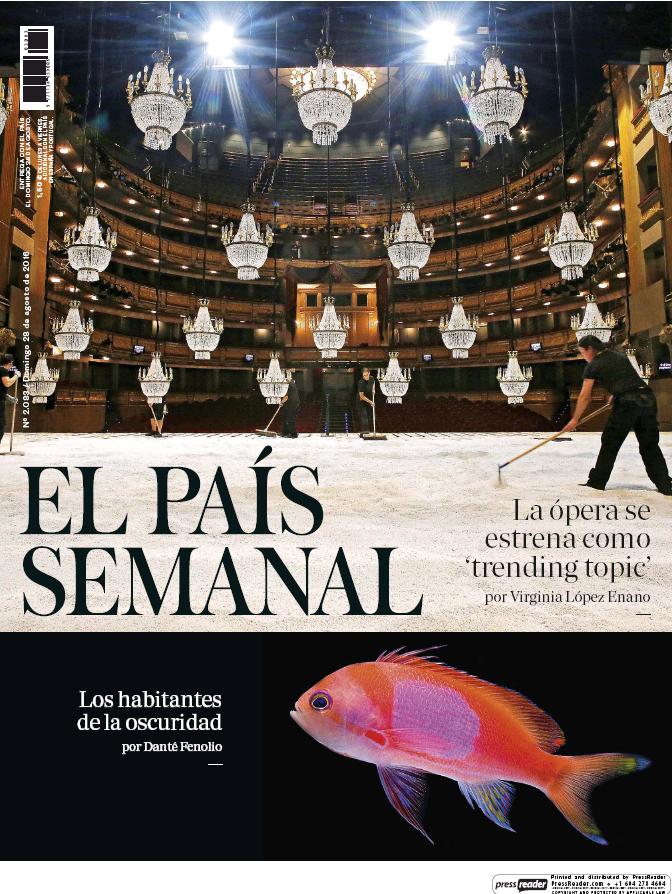 PAIS SEMANAL portada 28 de Agosto 2016