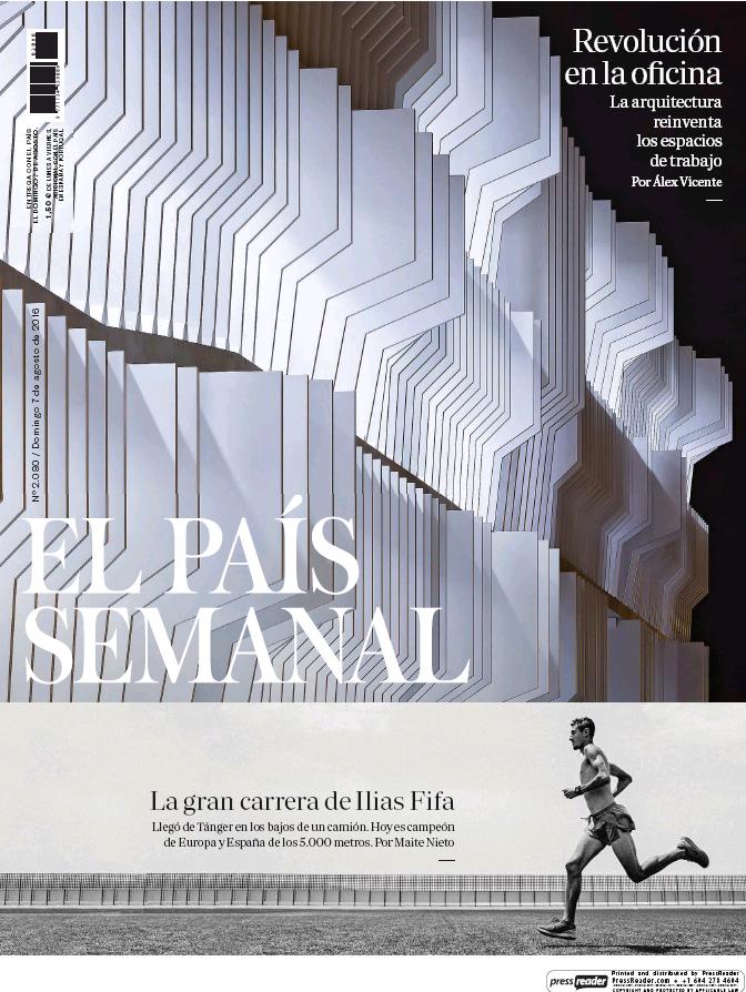 PAIS SEMANAL portada 7 de Agosto 2016