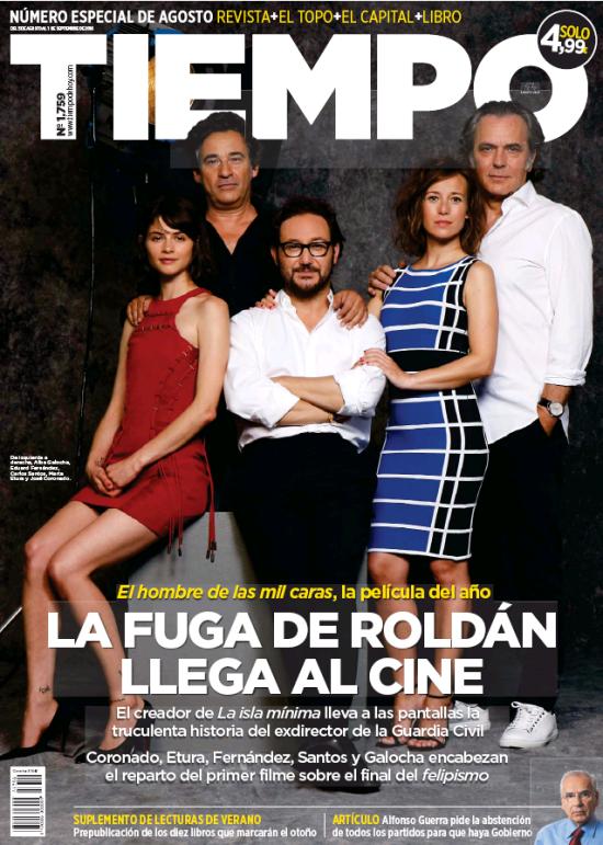 TIEMPO portada 7 de Agosto 2016