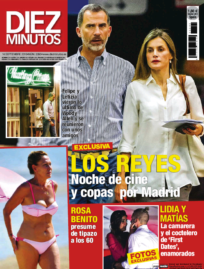 DIEZ MINUTOS portada 7 de Septiembre 2016