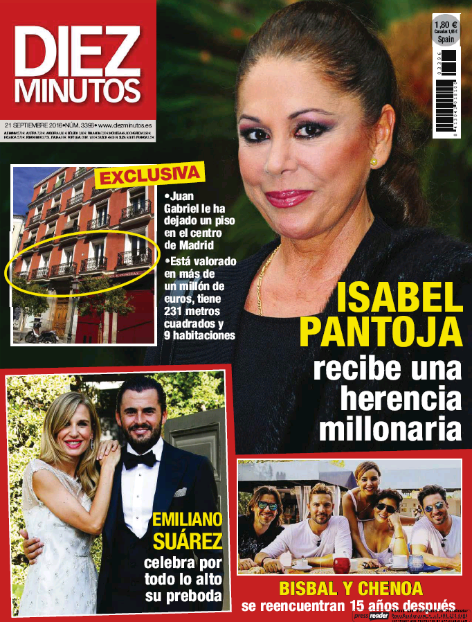 DIEZ MINUTOS portada 14 de Septiembre 2016