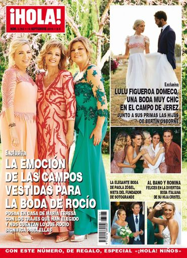 HOLA portada 7 de Septiembre 2016