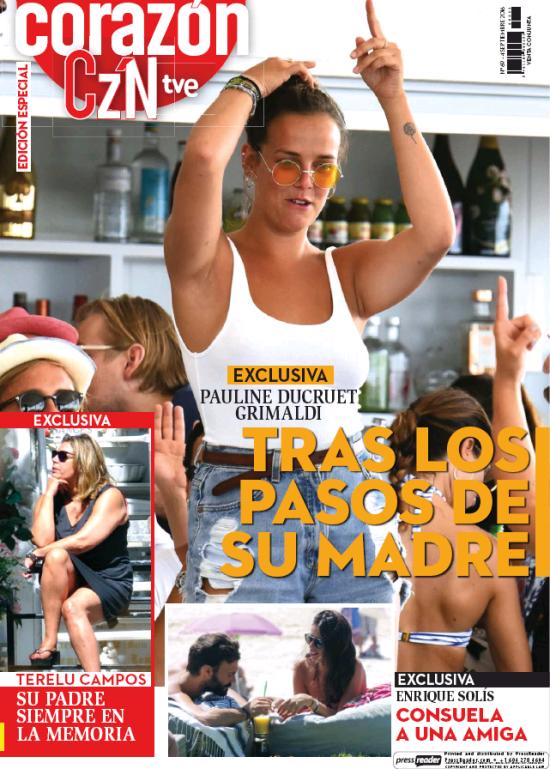 HOY CORAZON portada 5 de Septiembre 2016