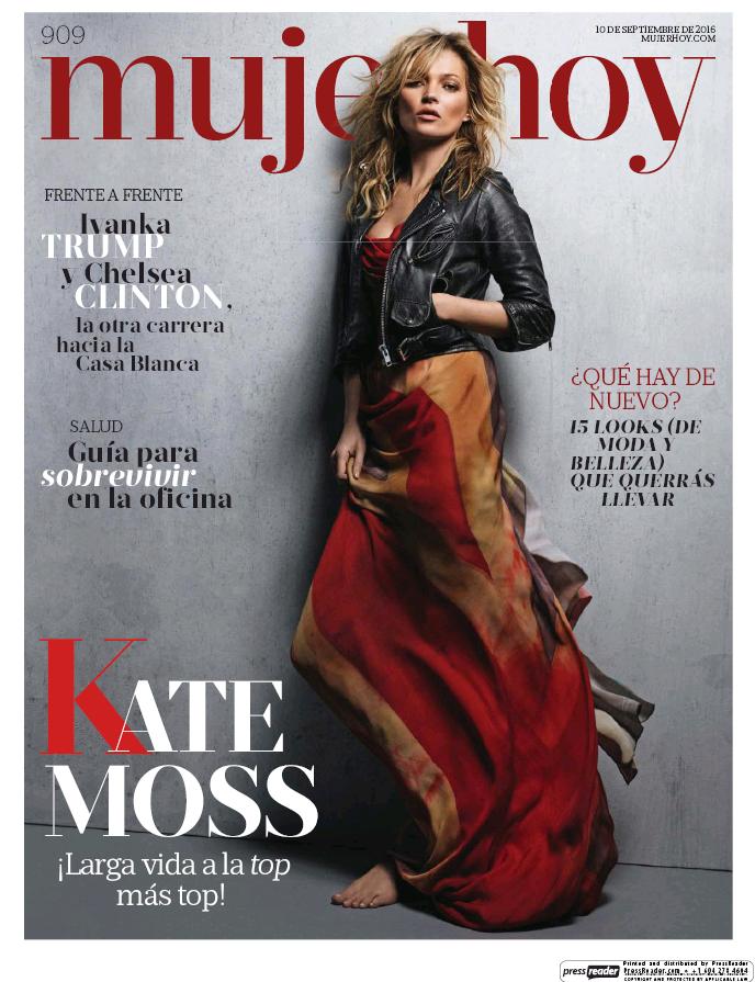 MUJER HOY portada 11 de Septiembre 2016