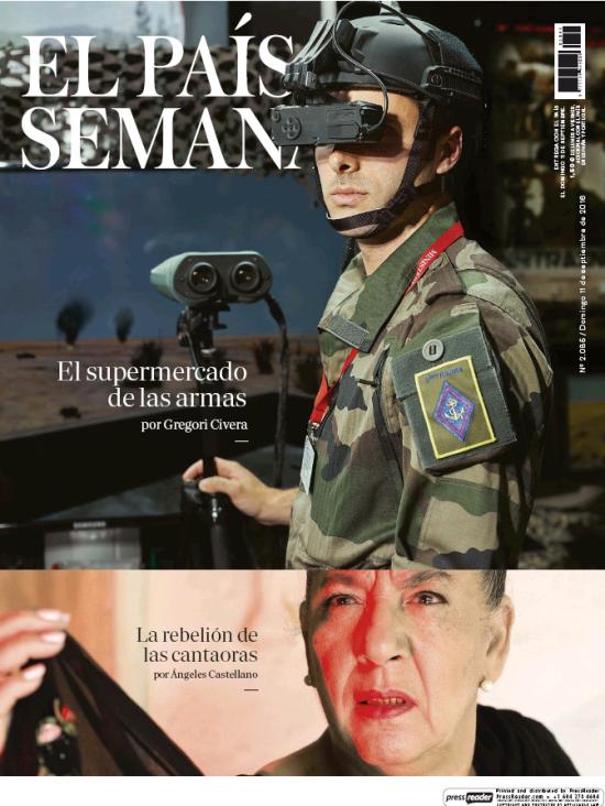 PAIS SEMANAL portada 11 de Septiembre 2016