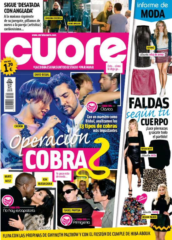 CUORE portada 9 de Noviembre 2016