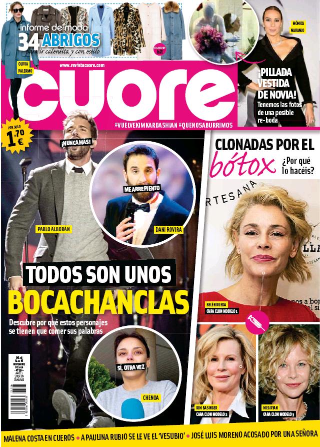 CUORE portada 16 de Noviembre 2016