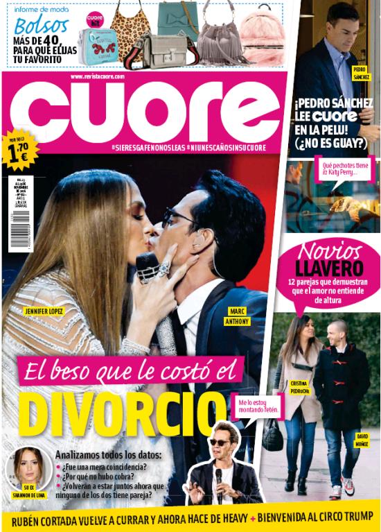 CUORE portada 23 de Noviembre 2016