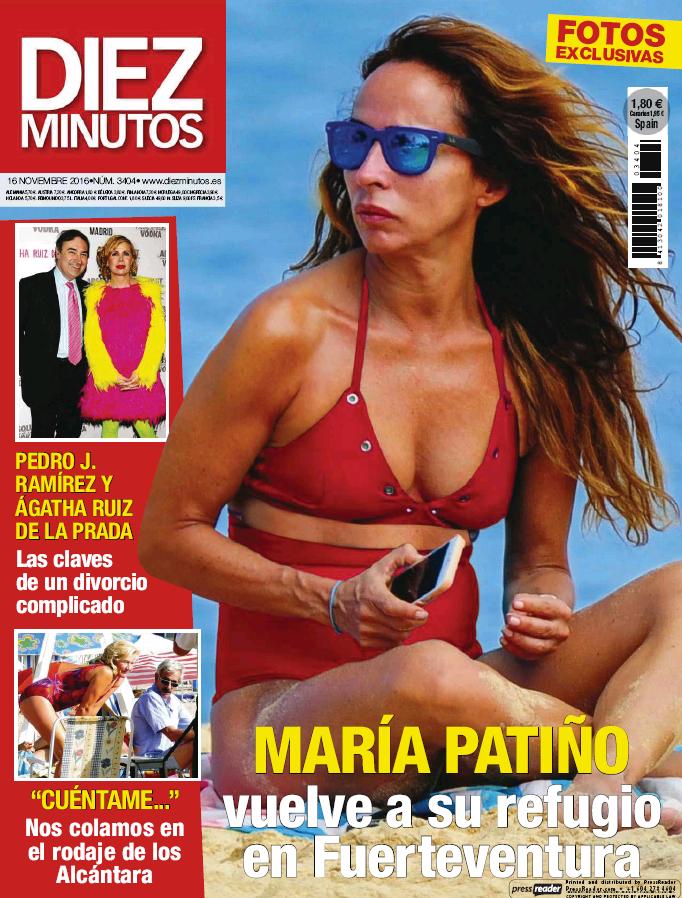 DIEZ MINUTOS portada 9 de Noviembre 2016