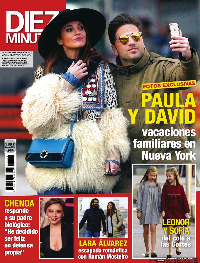 DIEZ MINUTOS portada 23 de Noviembre 2016