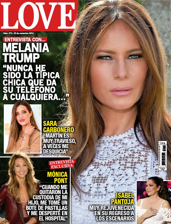 LOVE portada 16 de Noviembre 2016