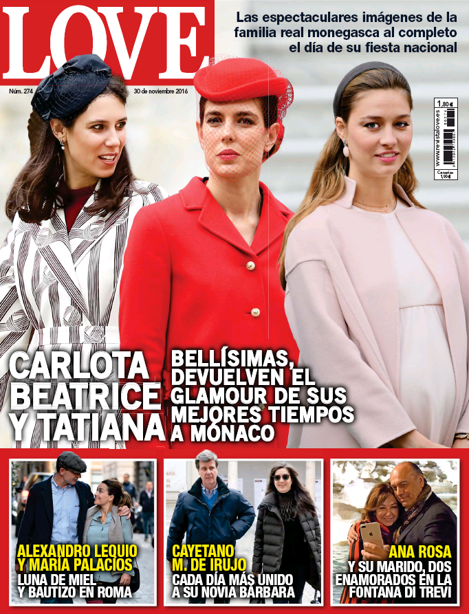 LOVE portada 23 de Noviembre 2016
