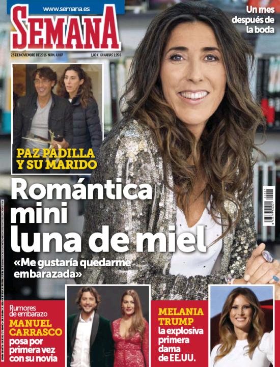 SEMANA portada 16 de Noviembre 2016
