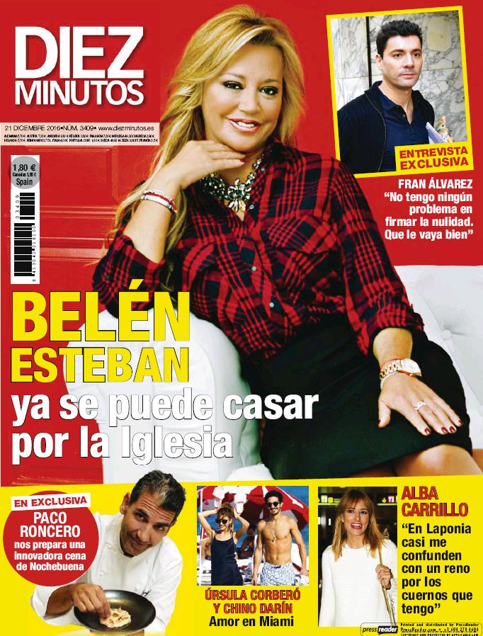 DIEZ MINUTOS portada 14 de Diciembre 2016