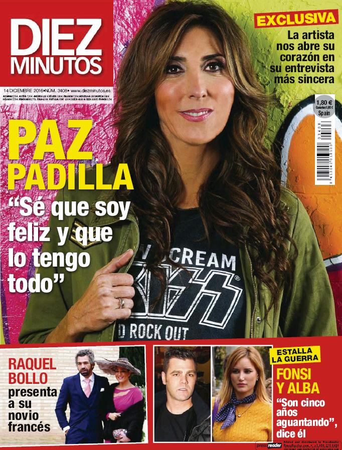 DIEZ MINUTOS portada 7 de Diciembre 2016