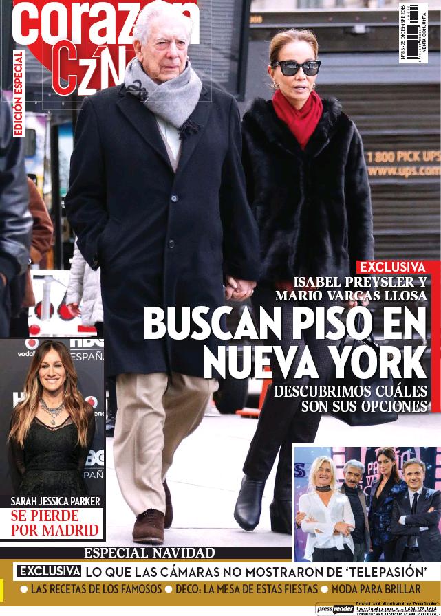 HOY CORAZON portada 26 de Diciembre 2016