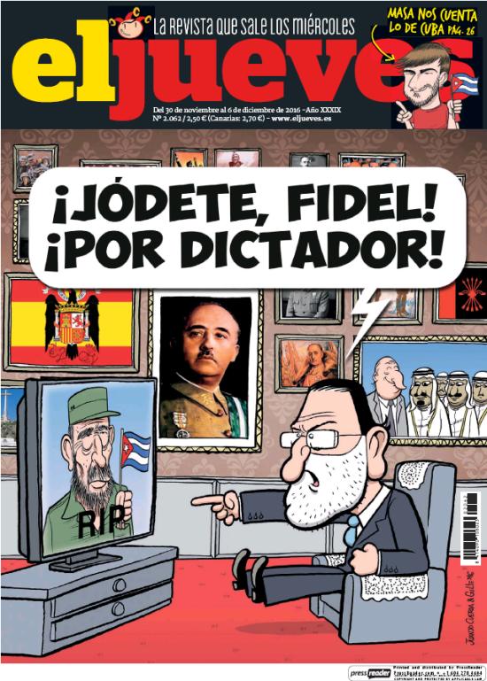 JUEVES portada 30 de Noviembre 2016