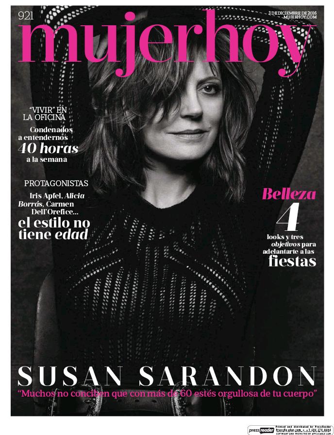 MUJER HOY portada 4 Diciembre 2016