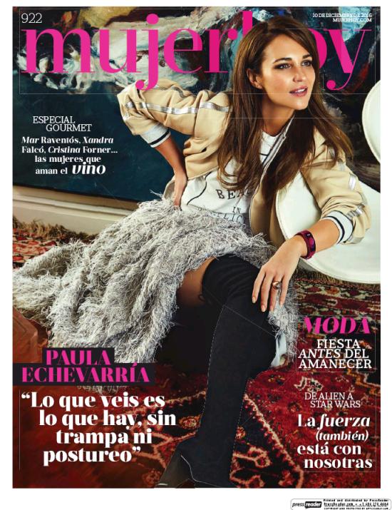 MUJER HOY portada 11 de Diciembre 2016