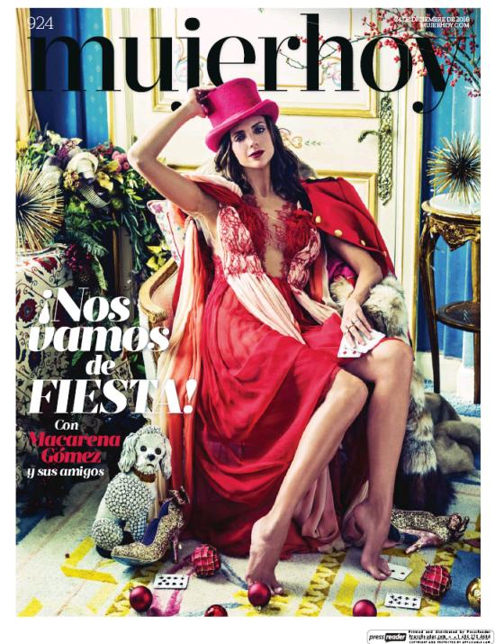 MUJER HOY portada 26 de Diciembre 2016