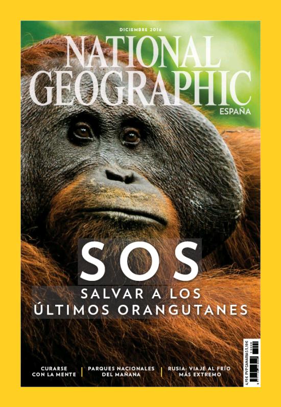 NATIONAL GEOGRAPHIC portada Diciembre 2016