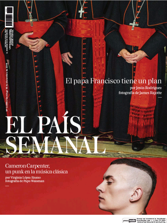 PAIS SEMANAL portada 18 de Diciembre 2016