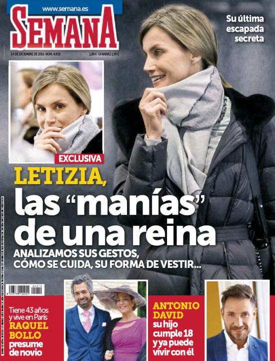 SEMANA portada 7 de Diciembre 2016