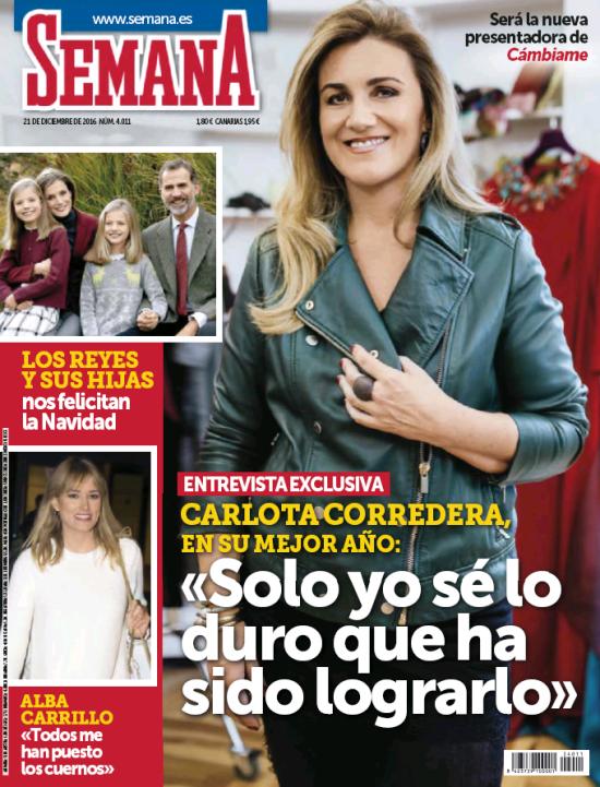 SEMANA portada 14 de Diciembre 2016