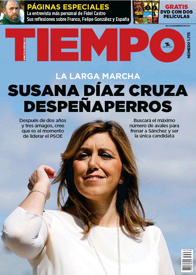 TIEMPO portada 4 Diciembre 2016