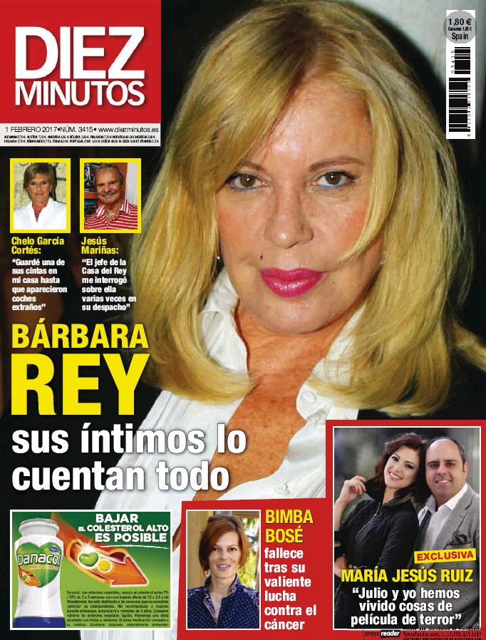 DIEZ MINUTOS portada 25 de Enero 2017