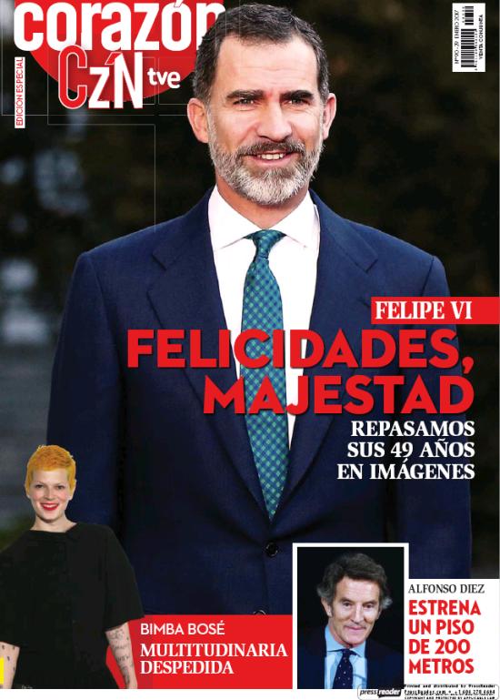 HOY CORAZON portada 30 de Enero 2017